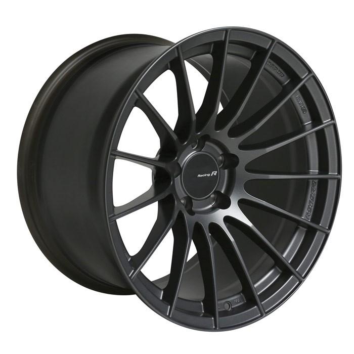 Enkei RS05RR Matte Gunmetal Wheels 18x9 +35mm Flat Face - 2015+ WRX / 2015+ STI