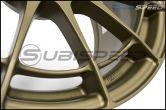 Enkei NT03RR Titanium Gold 18x9.5 +40 - 2015+ WRX / 2015+ STI