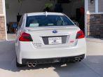 Sticker Fab V2 Narrow License Plate Panel Overlay (Carbon / Gloss Black / Matte Black) - 2015-2021 Subaru WRX & STI