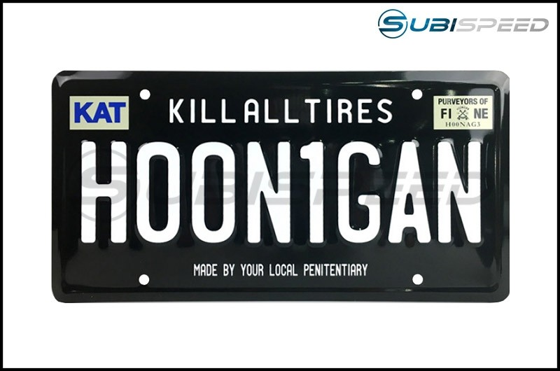HOONIGAN License Plate