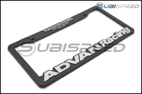 Advan Racing License Plate Frame - Universal