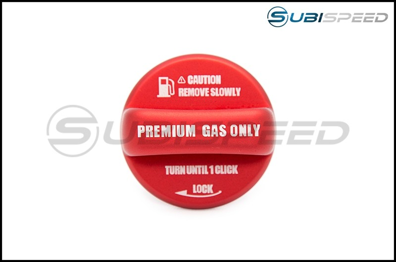 OLM Anodized Red Fuel Cap Cover