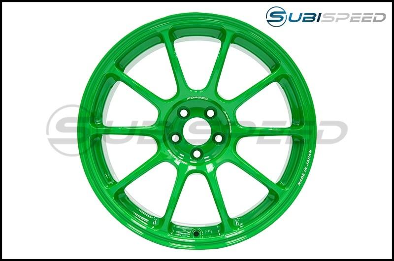 Volk ZE40 Takata Green 18x9.5 +38 - 2015+ WRX / 2015+ STI