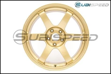Volk TE37 SAGA Gold 18x10 +41 - 2015+ WRX / 2015+ STI