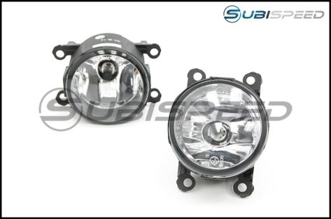 OLM Complete OEM Style Fog Light Kit - 2014-2015 Subaru Forester (Non XT)