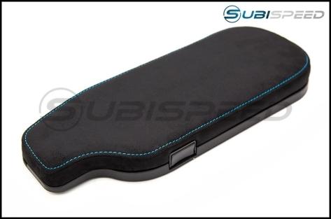 FT86 SpeedFactory OEM Style Alcantara with Blue Stitching LHD Arm Rest - 2013+ FR-S / BRZ / 86
