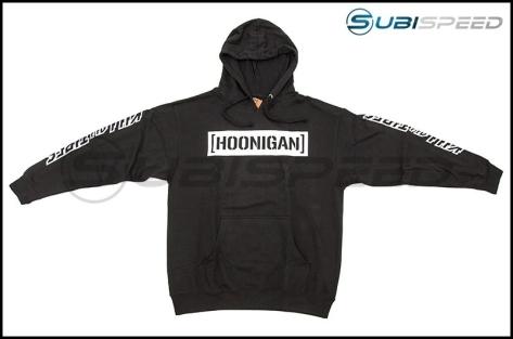 HOONIGAN Censor Bar Kill All Tires Pullover Hoodie Black / White