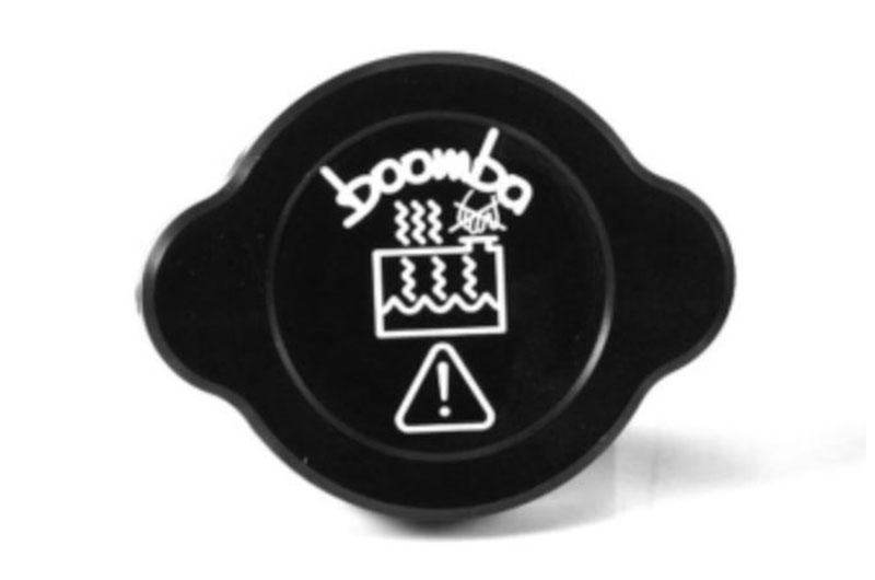 Boomba Racing 2015+Wrx/STI Radiator Reservoir Cover Cap Black