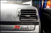Subaru OEM JDM AC Vents with Piano Black Trim (Outer) - 2015+ WRX / 2015+ STI / 2014+ Forester