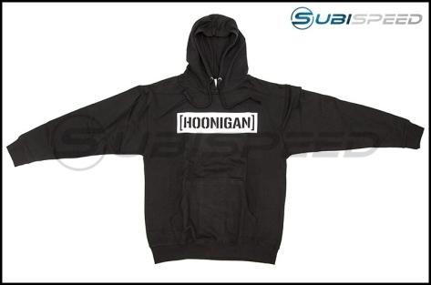 HOONIGAN Censor Bar Pullover Hoodie Black / White