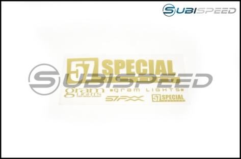 Gram Lights 57FXX CJ Spec 18x9.5 +38 Black Japan - 2015+ WRX / STI