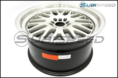 XXR 531 Wheels 18x9.5 +35mm (Hyper Silver) - 2015+ WRX / 2015+ STI / 2013+ FR-S / BRZ / 86 / 2014+ Forester