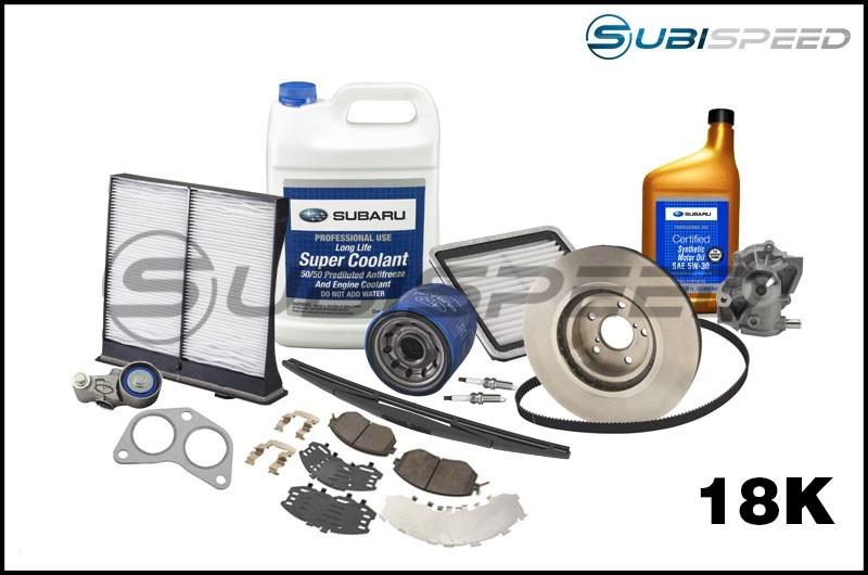 Subaru 18,000 Mile Maintenance Kit - 2015+ WRX