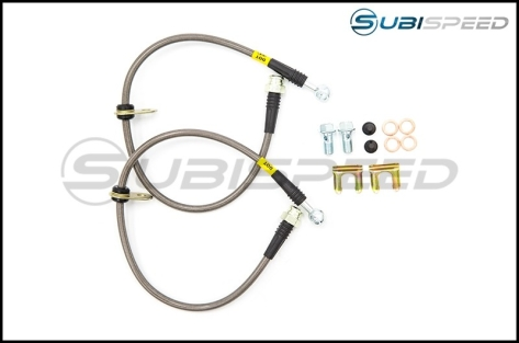 FactionFab Stainless Steel Brake Lines - 2013+ FR-S / BRZ / 86