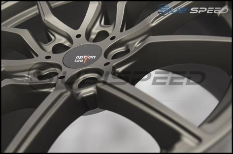 Option Lab R716 Wheels 18x9.5 +35 Nobel Gray - 2013+ FR-S / BRZ / 86 / 2014+ Forester