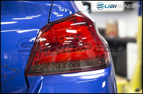 Tail Light Overlay for SubiSpeed USDM TR Style Sequential Tail Lights