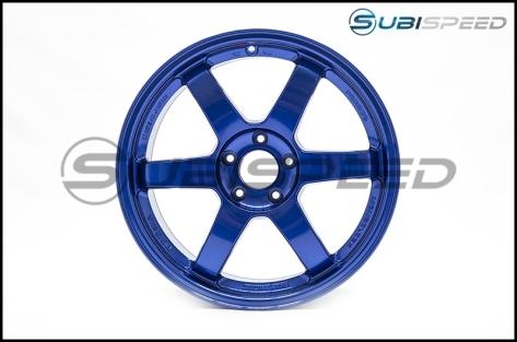 Volk TE37 SL Hyper Blue 18x9.5 +40 - 2015+ WRX / 2015+ STI