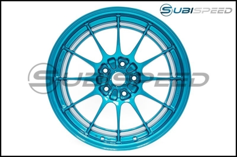 Enkei NT03+M 18x9.5 +40mm Emerald Blue - 2015+ WRX / 2015+ STI