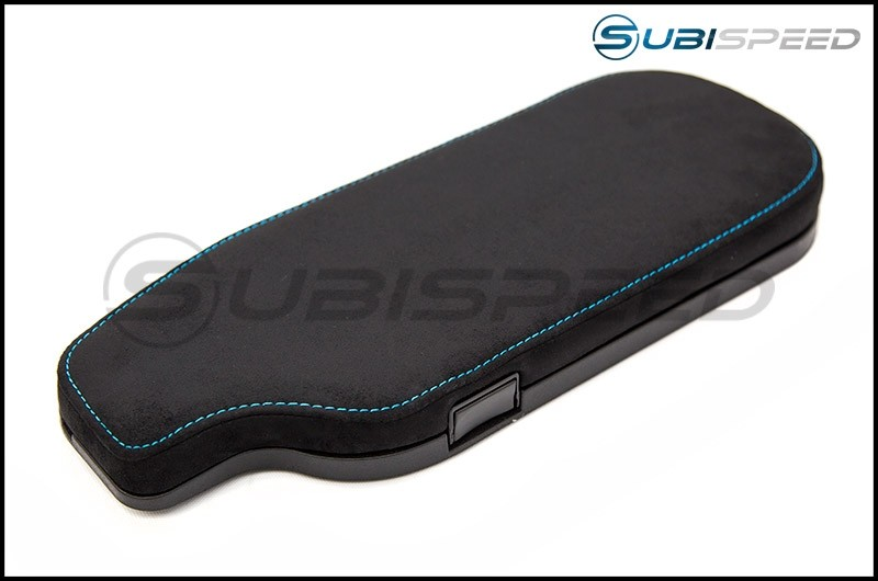 FT86 SpeedFactory OEM Style Alcantara with Blue Stitching LHD Arm Rest