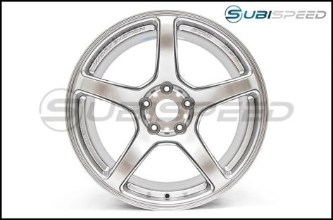 Work Wheels Emotion T5R Glow Silver 18x9.5 +38 - 2015+ WRX / 2015+ STI
