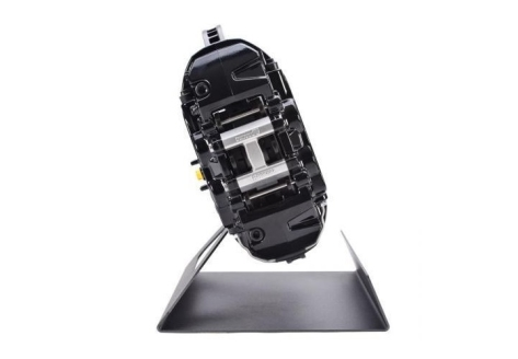 AP Racing Front Black 4 Piston Radi-CAL Brake Kit System, Slotted Rotors (355x32mm) by STILLEN - 2015-2017 WRX / 2015-2017 STI