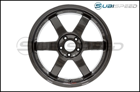 Volk TE37SL Diamond Black 18x9.5 +40 - 2015+ WRX / 2015+ STI