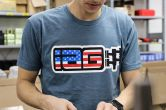 IAG Performance IAG USA Boxer Logo T-Shirt - Indigo - Universal