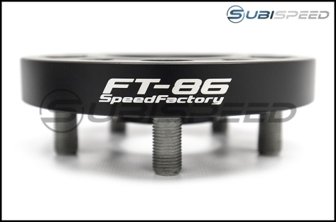 FT-86 SpeedFactory 5x100 Forged Aluminum Wheel Spacers - 2013+ FR-S / BRZ / 86