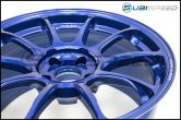 Volk ZE40 Hyper Blue 18x9.5 +38 Face 2 - 2015+ WRX / 2015+ STI