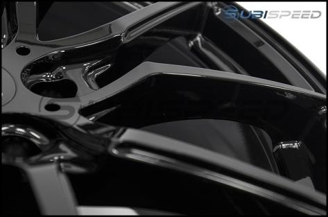 Option Lab R716 18x9.5 +35 Gotham Black - 2013+ FR-S / BRZ / 86 / 2014+ Forester