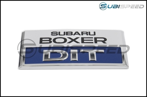Subaru OEM JDM DIT Engine Cover Oranament - 2015+ WRX / 2014-2018 Forester