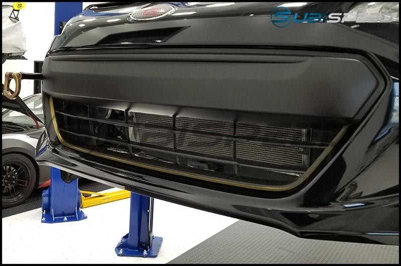 STI tS JDM Style Front Bumper Pinstripe - 13+ BRZ