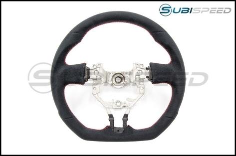FT-86 SpeedFactory Alcantara Red Stitch Steering Wheel