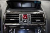 OLM S-Line Dry Carbon Fiber Center AC Vent Cover - 2015 Subaru WRX & STI
