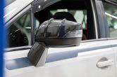 OLM STI RA-R Style Carbon Fiber Mirror Covers - 2015-2020 Subaru WRX & STI