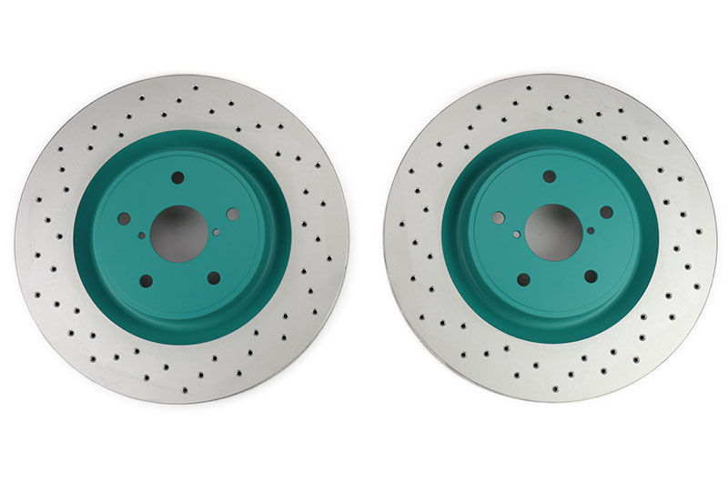 Project Mu Club Racer Front Rotor Pair