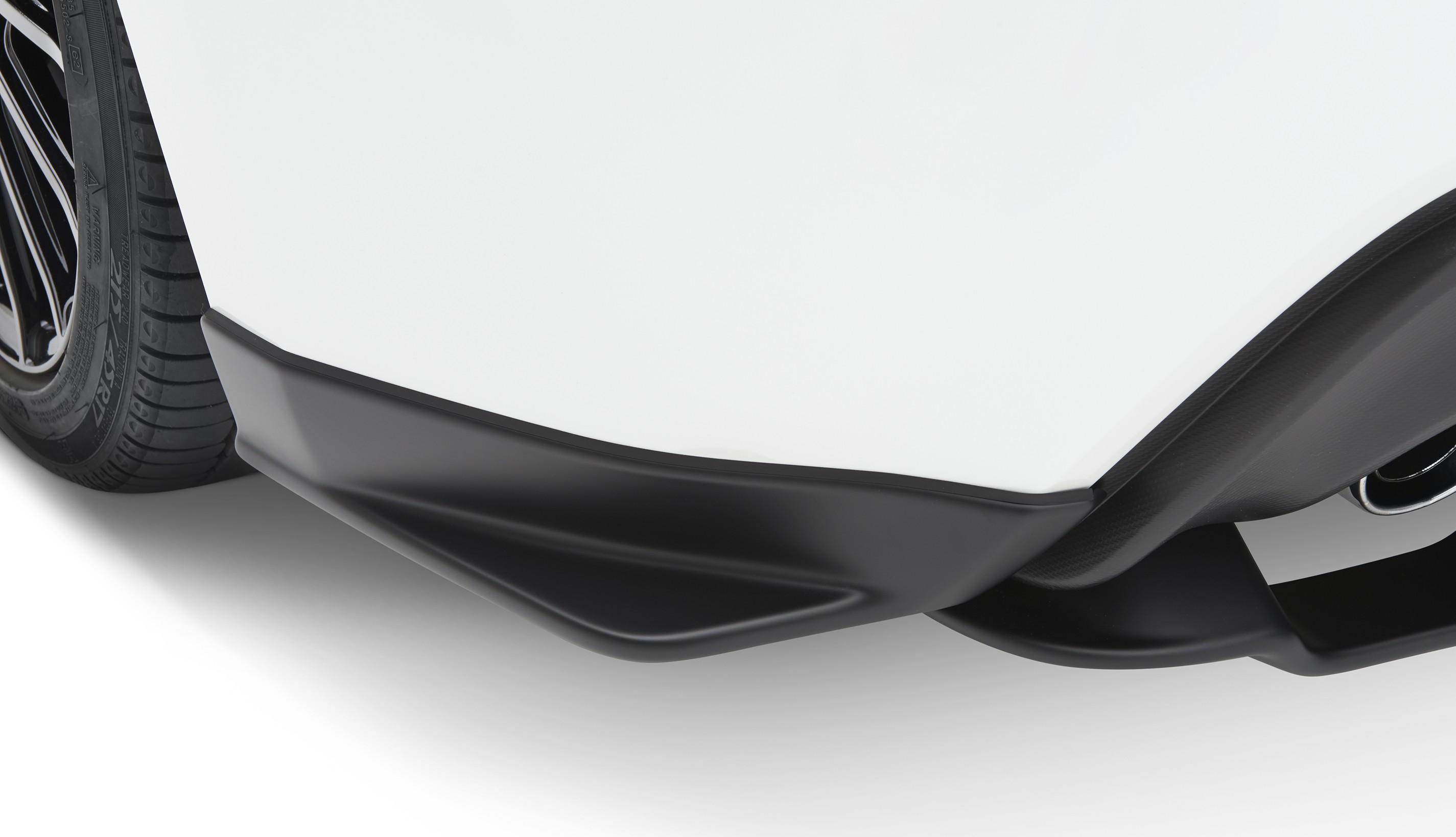 Subaru STI Under Spoiler Rear Sides