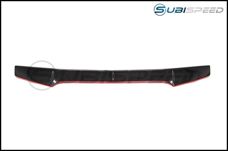 OLM RS Style Redline Gurney Flap for STI Spoiler