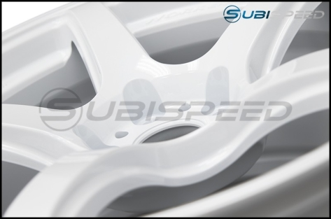 Work Wheels Emotion T5R Ice White 18x9.5 +38 - 2015+ WRX / 2015+ STI