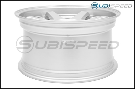 MiRo Type 398 Wheels 18x9.5 +34mm Silver - 2013+ FR-S / BRZ / 86 / 2014+ Forester