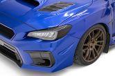 OLM Paint Matched JDM Style Canards - 2015-2021 Subaru WRX & STI
