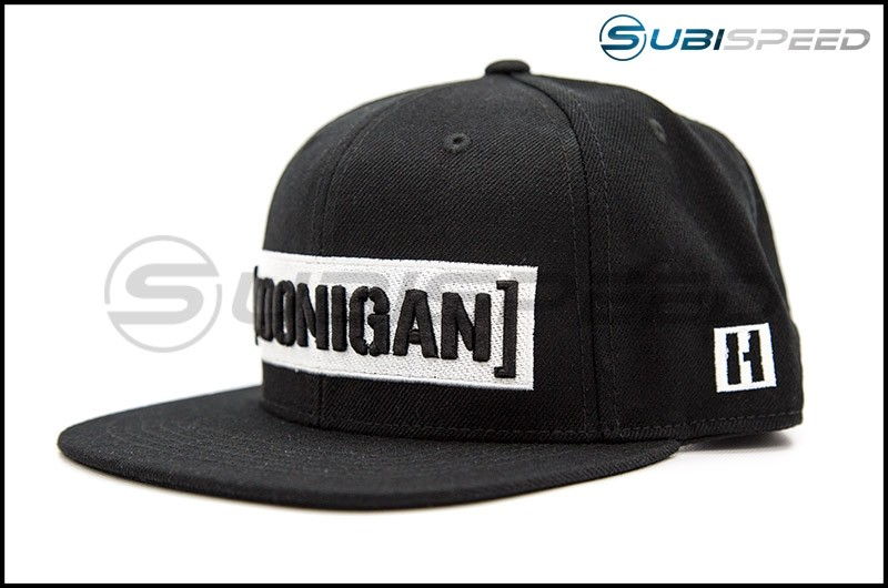 HOONIGAN Censor Bar Snapback Hat Black / White