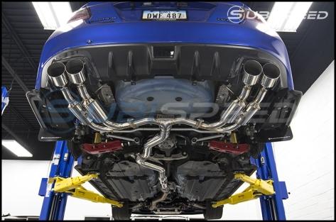 Invidia Gemini (R400) Quad Tip Exhaust
