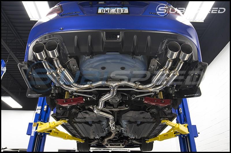Invidia Gemini R400 Quad Tip Cat-Back Exhaust