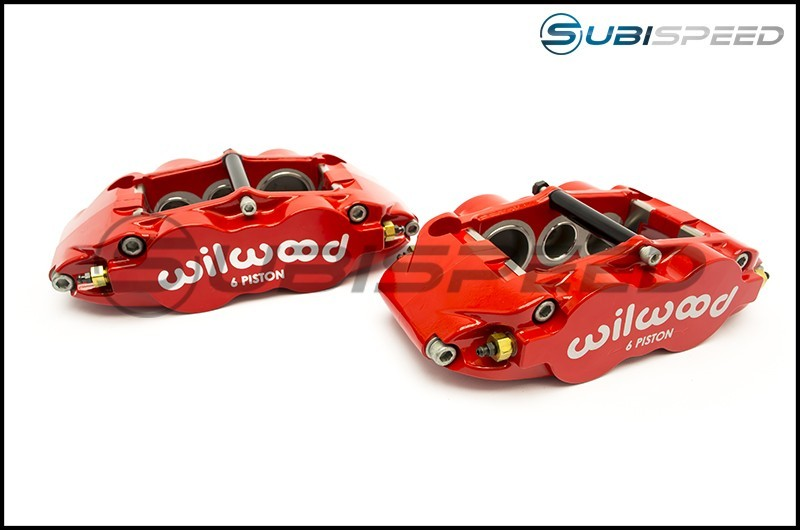 Wilwood 6R Drilled Front (Red)