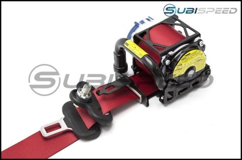 Subaru JDM OEM Special Edition S207 Red Seat Belt by Takata - 2015+ WRX / STI