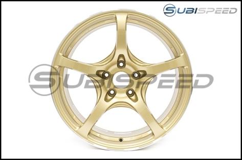 Rays G50 Gold (Face 2) 18x9.5 +38 - 2015+ WRX / STI