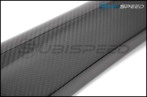 OLM LE Dry Carbon Front Door Trim Upper Panels - 2015+ WRX / 2015+ STI