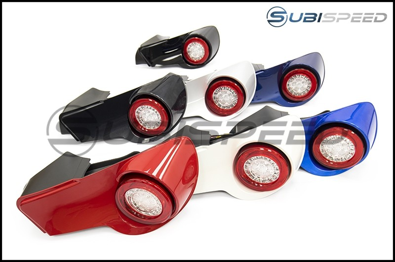 Paint Matched Intec Tail Light With Clear Lens