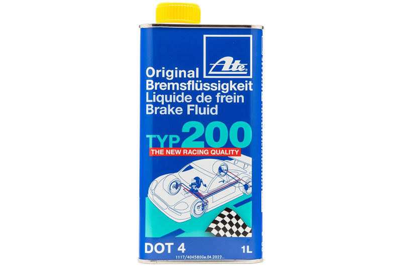 ATE Original TYP 200 DOT 4 Brake Fluid - 1L
